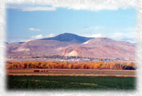 A view of Challis. Photo by Bill Osborn available at Mad Dog Gallery, 208-879-2467.
